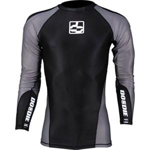 Do or Die Long Sleeve Black Rashguard